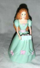 Birthday Barbie Ginger hair aqua dress present McDonald's 2000 Mattel