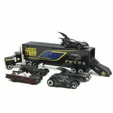 7PCS Batman Batmobile & Container Truck Car Model Toy Vehicle Christmas Gift