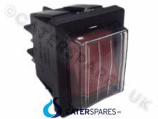 Interruptor Bipolar Rojo en off Doble Polo 4 Pin 22MM X 31MM 230V IP65 Cubierta