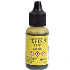 ICE Resin Tint, YARROW YELLOW, Resin Pigment Dye,1/2 oz. bottle, pnt0035