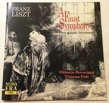 LISZT: A Faust Symphony - Two Piano Version CD 1997 Bresciani/Poli nuova era