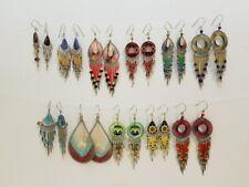 100 pair lot of Peruvian assorted handmade earrings Thread Murano Ceramic, Other
