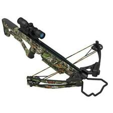 Wildgame XB 370 Crossbow Package w/ Scope,Quiver, Rope Cocker,Arrows &Broadheads