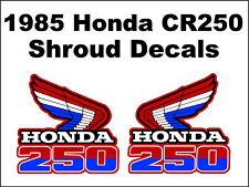 Tank decals for 1985 Honda CR250r Dirtbike    CR250 CR 250 250r
