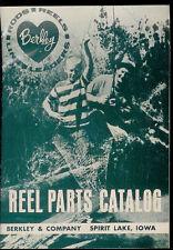Vintage Berkley Spinning Casting Fly Fishing Reel Illustrated Parts List Catalog