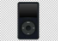 512GB SD IPOD CLASSIC BLACK ROCKBOX! 6TH GEN ALUMINIUM BLUETOOTH LOT OF BONUS!