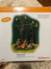 Rock-A-Bye Vampire / Dept 56 Snow Village Halloween - Mib / Mint in Box