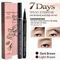 7 Days Eyebrow Tattoo Pencil Pen Liner Long Lasting Eye Makeup Cosmetic Tool