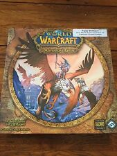 FFG World of Warcraft Adventure Board Game Demo Contents Sealed