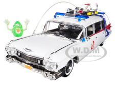 "1959 CADILLAC AMBULANCE ECTO 1 ""GHOSTBUSTERS 1"" MOVIE 1/18 BY AUTOWORLD AWSS118"