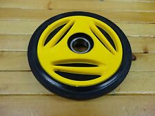 "SKI DOO YELLOW IDLER BOGIE WHEEL 135mm 5 3/8"" O.D. MADE BY OEM MANUFACTURER PPD"
