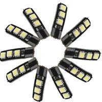 10X Canbus T10 194 168 W5W 5050 6 LED SMD Blanc Cote de la voiture cale Lam A3J4