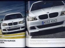 Bmw performance accesorios 1er e87, 3er, e90, e92, refrescos, Coupe, folleto alemán 2/2011