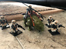 7pcs Minifigures Star Wars Army Clone Trooper Moisture Monster weapon Lego MOC