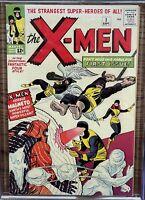 X-Men #1 1963 CGC 8.0 R Mega Holy Grail Silver Age Comic Book!! MCU Movie Soon!
