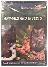 BRITANNICA ANIMALS AND INSECTS (DVD) BRAND NEW SEALED - FREE U.S. SHIP - NICE