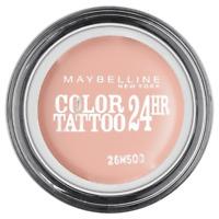 Gemey Maybelline Eyestudio Color Tattoo 24h - 91 Creme De Rose
