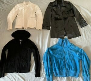 4pc Lot Women's Banana Republic,Steve Madden,Old Navy,etc. Mix Style Jackets,S/M