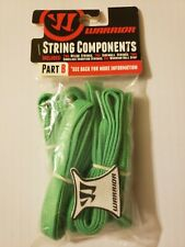 Warrior Lacrosse String Components Part B Green