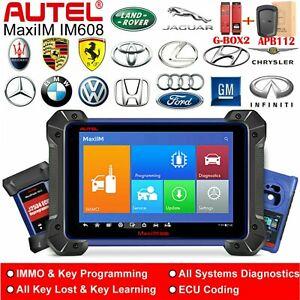 Autel MaxiIM IM608 J2534 ECU Programming+XP400+G-BOX2+APB112 IMMO Key Programmer