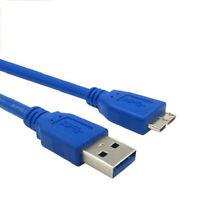 30CM Super Speed USB 3.0 Stecker A auf Micro B Kabel für externe Festplatte TDO