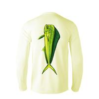 Performance Fishing Shirt UPF Moisture Long Sleeve Microfiber Mahi