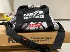 Supreme RealTree  White Camo Duffle Bag F/W12 - New without Tags Small Size