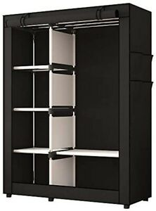 UDEAR Non-Woven Fabric Wardrobe Clothes Storage Organiser Grey GY-02 NEW - Z05