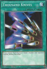 YU-GI-OH CARD: THOUSAND KNIVES - LDK2-ENY27 - 1st EDITION