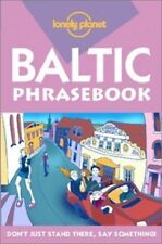 Baltic (Lonely Planet Phrasebook) by etc. Paperback Book The Cheap Fast Free