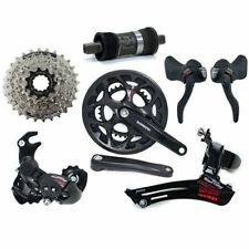 Fast Shipping SHIMANO Tourney A070 Road 2 x 7 Speed Groupset 6 piece RD W/Hanger