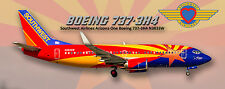 Southwest Airlines Boeing 737 Arizona One Colors Photo Magnet (PMT1622)