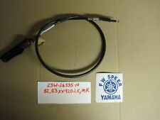 1982 1983 XV920J XV920K clutch cable