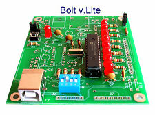 Bolt 18F2550 system PIC USB Microcontroller Educational Development Board