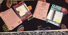 "Franklin Quest Collins Day Runner Mixed Lot 5 1/2"" X  8 /12"" Planner Log Refills"