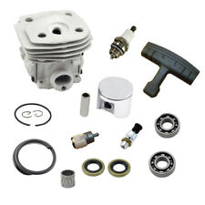 New 47mm Cylinder Piston & Ring Kit for Husqvarna 357 359 357XP Chainsaw Parts