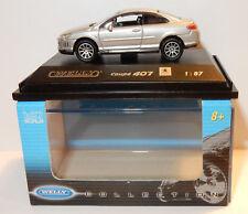 Micro Welly Colección Porsche Cayenne Turbo negra Ho 1/87 en Box