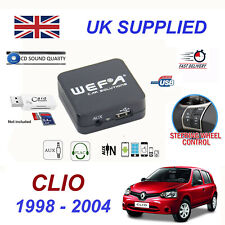 Renault CLIO MP3 SD Card Reader USB CDAUX Input Audio Adapter Digital CD Changer