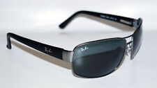 Lunettes gris ovales Ray-Ban pour homme