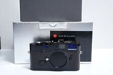 Leica MP A la carte Black Paint 0.72 35mm Rangefinder Film Camera Body (10360)