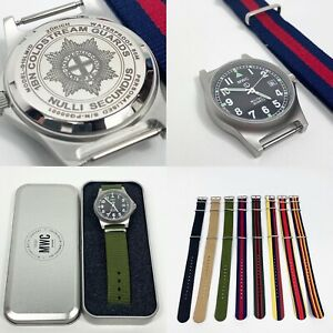 Personalised MWC Military Watch 50M Engraved Army Wristwatch Any Logo Any Text