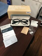 Vue Smart Glasses Bone Conduction W/Bluetooth Black NIB