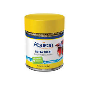 Aqueon Betta Treat Bloodworm .175oz (Free Shipping in USA)