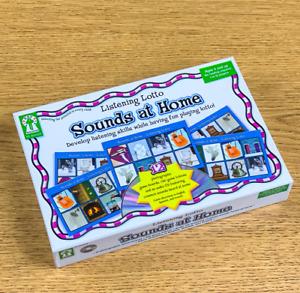 Listening Lotto Sounds at Home Carson-Dellosa Audio Board Game + CD Educational