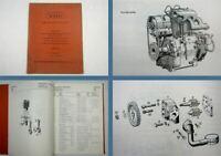 MWM AKD 10 Z 2-Zylinder Spare Parts Ersatzteilliste Ersatzteilkatalog 1966