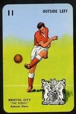RARE Football Playing Card - Bristol City 1964-5