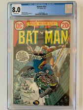 DC Comics  BATMAN 247 8.0  CGC