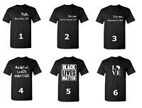 Black Lives Matter Shirt Civil Rights Justice Freedom T-Shirt Mix Designs Tee