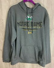 Under Armour Men Notre Dame Medium Fighting Irish Hoodie Sweatshirt Coldgear New