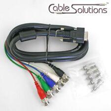 DVDO HD-15 to 5-BNC VGA Breakout Cable, 6 foot, 11-2012-01